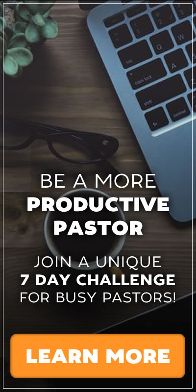 Free 30 Day Leadership Challenge For Busy Pastors